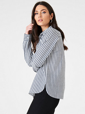 Rut & Circle Ina Striped Shirt blå multicolor