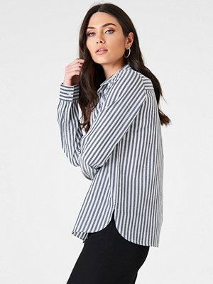 Skjortor - Rut & Circle Ina Striped Shirt blå multicolor