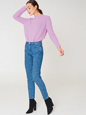 NA-KD Pearl Denim Pants