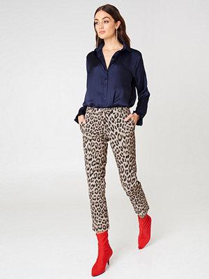 Twinset mönstrade byxor Pantalone New York Pants