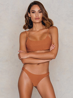 Hot Anatomy Wrinkled Bikini Panty orange