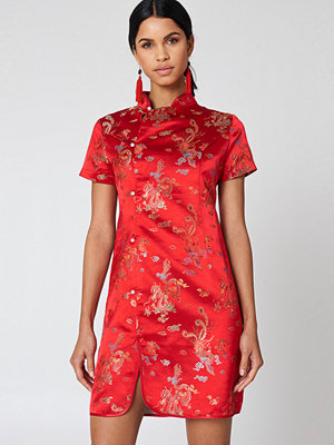 NA-KD Cheongsam Mini Dress