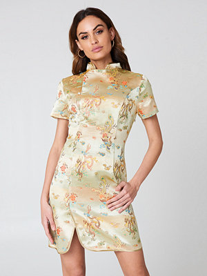 NA-KD Cheongsam Mini Dress - Festklänningar