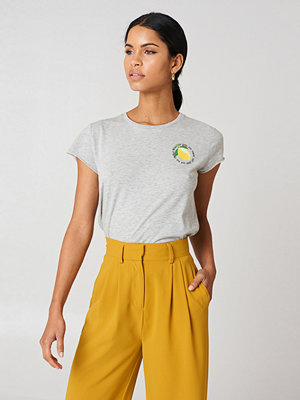 Rut & Circle Lemon Tee