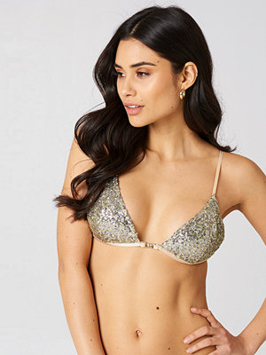 For Love & Lemons Eloise Sequin Bra Top - BH:ar