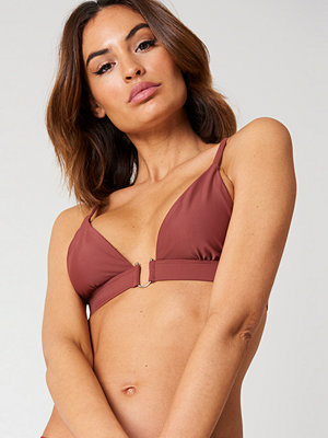 NA-KD Swimwear Metal Loop Bikini Bra