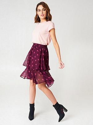 NA-KD Boho Double Frill Skirt