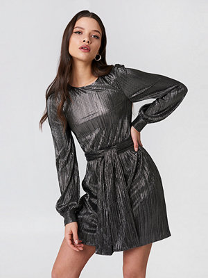 For Love & Lemons Marion Bell Sleeve Mini Dress
