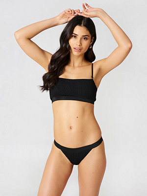 Hot Anatomy Tie Bikini Top svart