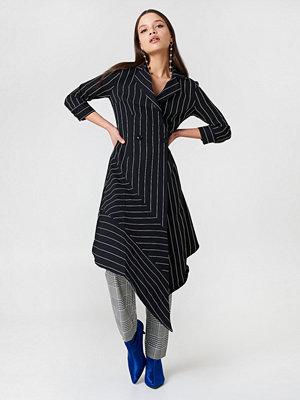 Trendyol Stripe Asymmetrical Dress