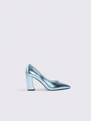 NA-KD Shoes Rounded Heel Pumps blå
