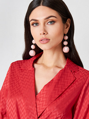 NA-KD Accessories smycke Sequin Triple Globe Drop Earrings