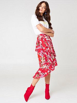 NA-KD Trend Double Layer Asymmetric Skirt