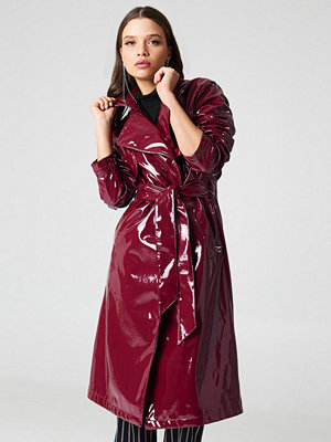 NA-KD Trend Patent Long Jacket