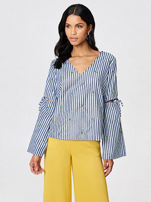Rut & Circle Pineapple Stripe Blouse