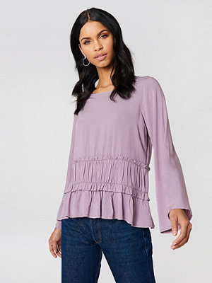 Rut & Circle Venda Waist Seam Blouse lila