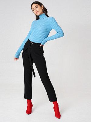 Rut & Circle svarta byxor Delia Wrap Pant svart