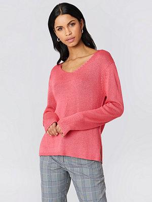 Rut & Circle Ninni V-neck Knit rosa