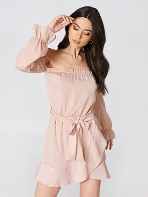 Oh My Love Off Shoulder Mini Dress