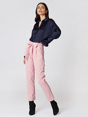Glamorous gammelrosa byxor Culotte Belted Pants