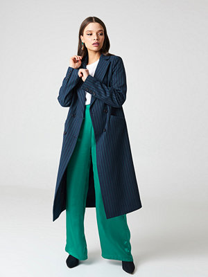 NA-KD Trend Striped Coat