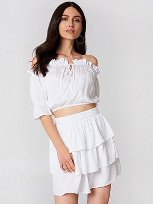 LinnAhlborgXNaKd Layered Mini Skirt