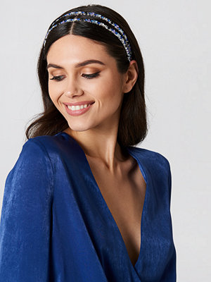 NA-KD Accessories smycke Embellished Double Hairband