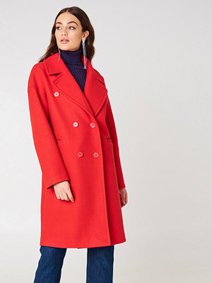 NA-KD Trend Double Breasted Coat