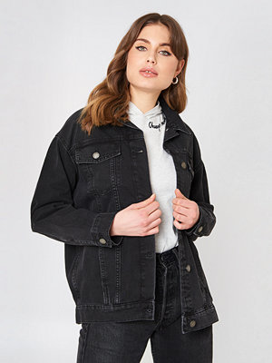Jeansjackor - Cheap Monday Upsize Jacket svart