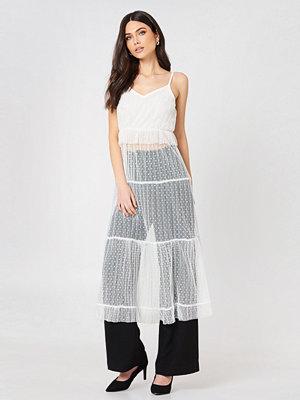 Glamorous Ruffle Detail Strap Dress - Midiklänningar
