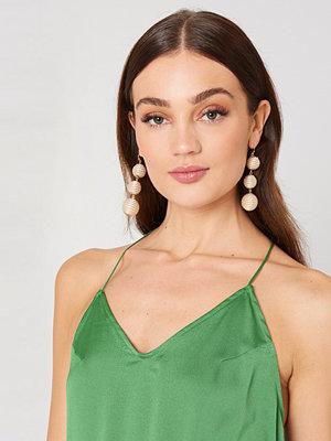 NA-KD Accessories smycke Royal Triple Globe Drop Earrings