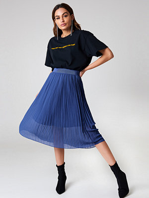 NA-KD Trend Pleated Midi Skirt