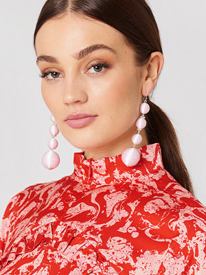 NA-KD Accessories smycke Textured Globes Drop Earrings
