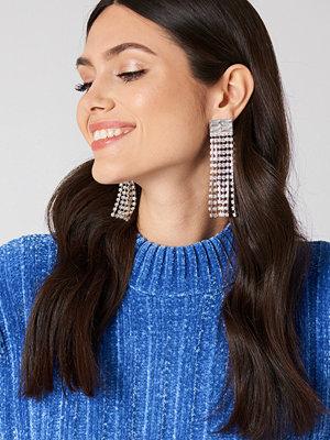 NA-KD Accessories smycke Retro Rhinestone Tassel Earrings
