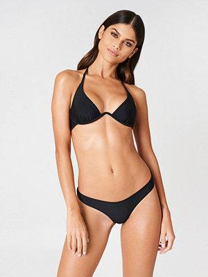 Rebecca Stella Bella High-Cut Bikini Pantie svart