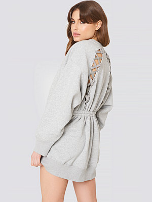 Tommy Hilfiger Gigi Hadid Open Back LS Sweatshirt Dress