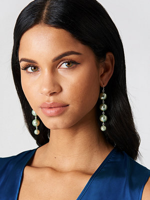 NA-KD Accessories smycke Coloured Pearl Drop Earrings