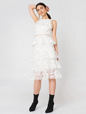 True Decadence Ruffle Lace Dress