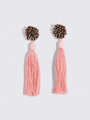 Mango smycke Micro Beads Tassel Earrings