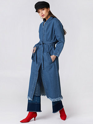 NA-KD Trend Denim Coat