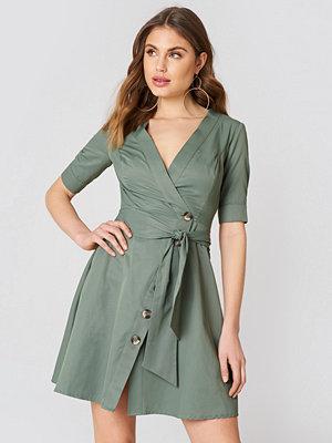 Trendyol Tie Waist Buttoned Dress