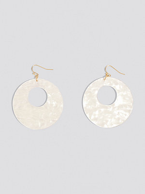 NA-KD Accessories smycke Round Hanging Resin Earrings