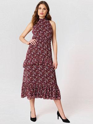 Trendyol High Neck Frilly Dress
