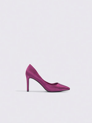 NA-KD Shoes Pointed Rectangle Heel Pumps lila