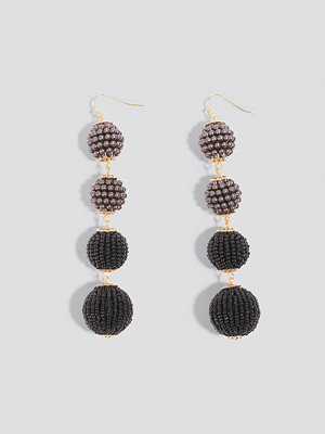 NA-KD Accessories smycke Beaded Ball Drop Earrings