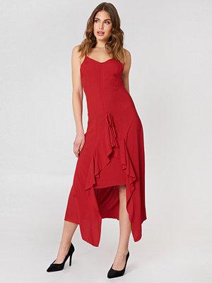 Trendyol Front Drawstring Dress