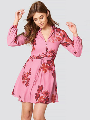 Trendyol Button Front Floral Dress