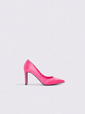NA-KD Shoes Pointed Rectangle Heel Pumps rosa