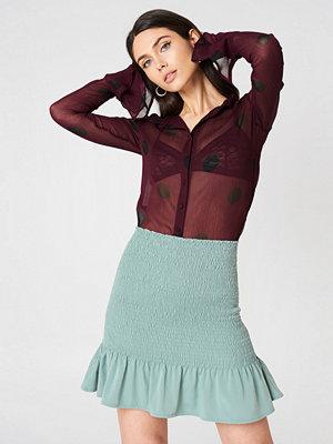 NA-KD Boho Smock Frill Detail Skirt