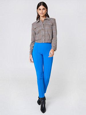 Trendyol blå byxor Slim Basic Pants